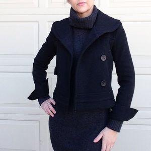 DEVELOPMENT ERICA DAVIES fitted black jacket XS